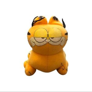 Vintage 80s Garfield The Cat Plush